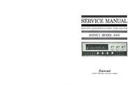 Service et Manuel de l'utilisateur Sansui 3000