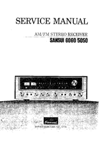 Cirquit Diagram Sansui 6060
