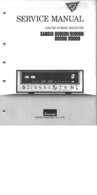 Service Manual Sansui 9090DB