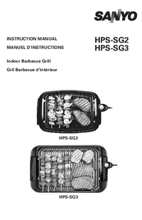 Manual del usuario Sanyo HPS-SG3
