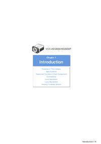 Manual do Usuário Sanyo VCC-HD2500P