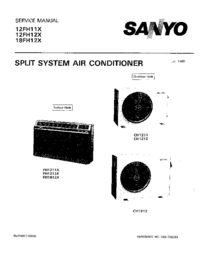 Service Manual Sanyo 12FH11X