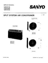 Manual de serviço Sanyo 12FH12X