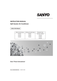 Manual del usuario Sanyo TS3632