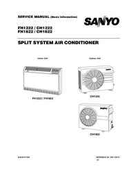Manual de servicio Sanyo FH1222