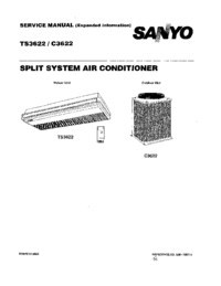Service Manual Sanyo TS3622