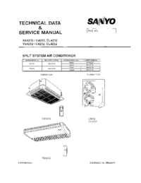 Service Manual Sanyo CL4232