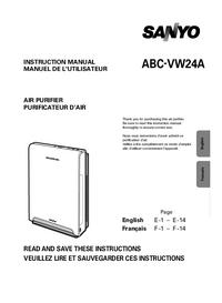 User Manual Sanyo ABC-VW24A