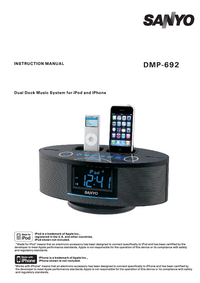 Manual del usuario Sanyo DMP-692