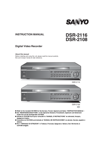 Manual del usuario Sanyo DSR-2116