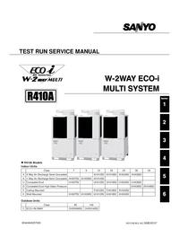 Manuale di servizio Sanyo R410A