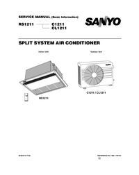 Manual de servicio Sanyo CL1211