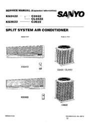 Service Manual Sanyo KS 2422