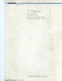 Manual do Usuário Schlumberger 7150 plus