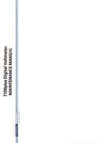 Manual de serviço Schlumberger 7150