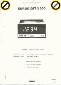 Manual do Usuário Schlumberger Eurodigit 2102