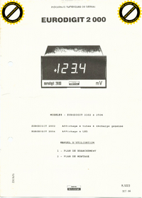 Manuale d'uso Schlumberger Eurodigit 2102