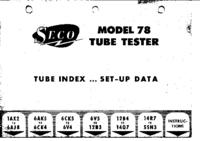 Instrukcja obsługi Seco 78