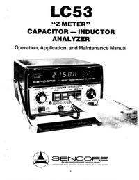 Sencore-5916-Manual-Page-1-Picture
