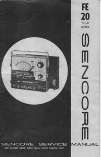 Serviceanleitung Sencore FE20