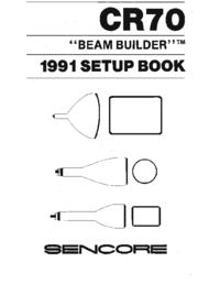 Instrukcja obsługi Sencore CR70