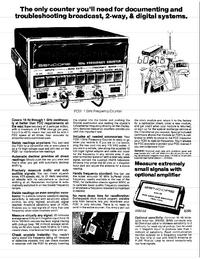 Sencore-5932-Manual-Page-1-Picture