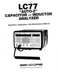 Sencore-5934-Manual-Page-1-Picture
