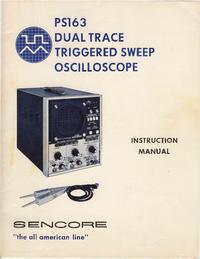 Bedienungsanleitung Sencore PS163