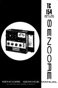 Manual de serviço Sencore TC154