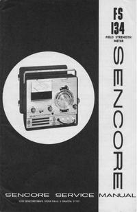 Serviceanleitung Sencore FS134