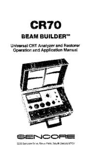 Sencore-7923-Manual-Page-1-Picture
