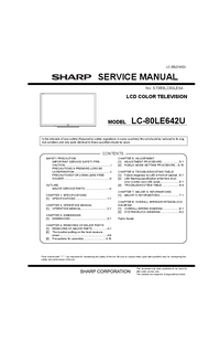 Service Manual Sharp LC-80LE642U