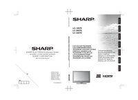 Manual del usuario Sharp LC-26S7E