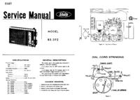 Instrukcja serwisowa Sharp BX-392