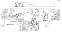 Cirquit Diagramma Sharp BX-403