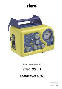 Serviceanleitung Siare Sirio S2 / T