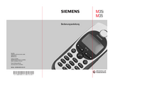 Manual del usuario Siemens M35