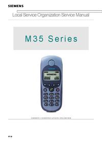 Serviceanleitung Siemens M 35
