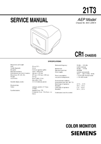 Manual de servicio Siemens CR1
