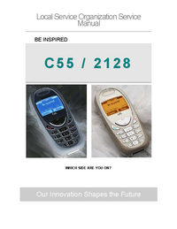 manuel de réparation Siemens C55 /2128