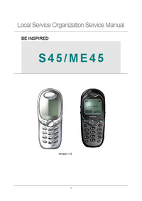 manuel de réparation Siemens ME45