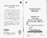 Manuale d'uso Simpson 467
