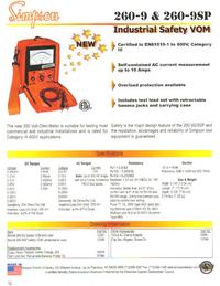 Datasheet Simpson 260-9SP