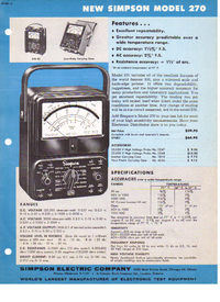 Datenblatt Simpson 270
