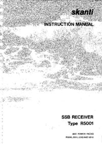 Service- und Bedienungsanleitung Skanti R5001