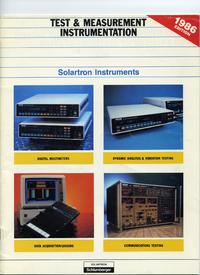 Catalogue Solartron xxxxx