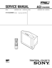 Service Manual Sony AG-3