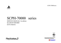 Service Manual Sony Playstation 2 SCPH-70000 Series