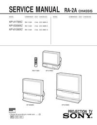 Manual de servicio Sony KP-53S65C