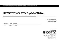 manuel de réparation Sony KLV-32R407A